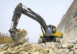 Volvo EC290B VOLVO Construction Equipment Int. AB, Швеция