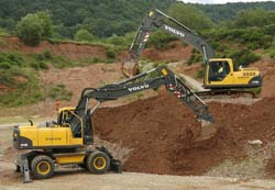 Volvo EW180 С VOLVO Construction Equipment Int. AB, Швеция